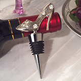 Dazzling Divas collection shoe wine stopper