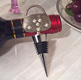 Dazzling Divas collection Handbag wine stopper