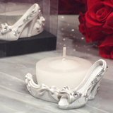 Belle of the ball dazzling Shoe design candle holder