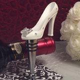 Belle of the ball dazzling Shoe design bottle stopper