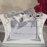 Wedding bells photo frame