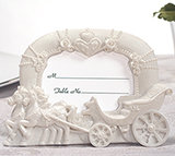 Enchanted moments wedding coach photo frame