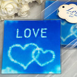 Love is in the air glass coasters