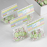 Chevron Treat Toppers. Package of 25.