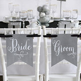 Charming Vintage Signs - Bride & Groom