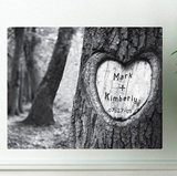 Tree of Love Print Canvas