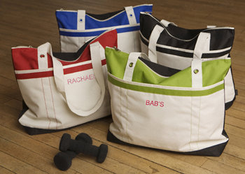 Personalized Fitness Fun Tote