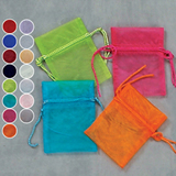 3x4 Sheer Organza Pouch (Pack of 12)