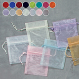 4x5 Sheer Organza Pouch (Pack of 12)