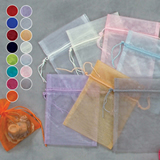 "5"" x 6.5"" Sheer Organza Pouch (Pack of 12)"