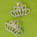 Metal Tiara Pin, 6 per pack