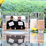 Mr. & Mr. Sand Ceremony Photo Vase Unity Set