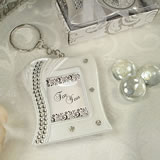 Deluxe Keychain Photo Frame Bling Deco Design