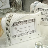 Deluxe Placecard Photo Frame Bling Deco Design