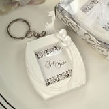 Deluxe Keychain Photo Frame Hearts Design