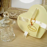Mini Crystal Carousel In Satin Lined Heart Box