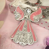 Angel Ornament Pink Epoxy
