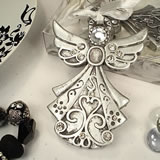 Angel Ornament Silver Design