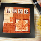 "8X8 Ceramic Trivet ""Fall In Love"""