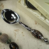 Murano Design Ice Cream Scoop Damask