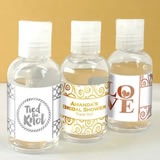 Metallic Foil Hand Sanitizer Favors