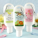 Baby Sunscreen Favors with Carabiner (SPF 30)