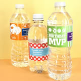 Kids Birthday Water Bottle Labels (Set of 5)