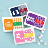 Kids Birthday Mint Box Favors
