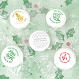 Holiday Metallic Foil Life Savers Mint Favors