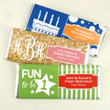 Kids Birthday Hershey's Chocolate Bar Favors