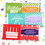Kids Birthday Hershey's Bar Wrappers