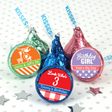 Kids Birthday Hershey's Kisses Favors