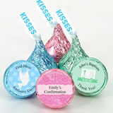 Religious Colored Foil Hershey's Kisses