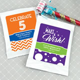 Kids Birthday Cocoa Favors