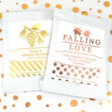 Metallic Foil Cocoa Favors