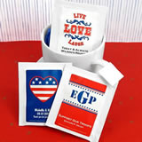 Patriotic Tea Favors