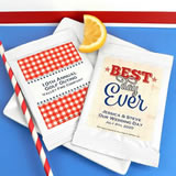 Patriotic Lemonade Favors