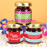 Kids Birthday Jam Favors