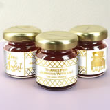 Metallic Foil Jam Favors