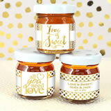 Metallic Foil Honey Favors