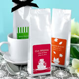 Gourmet Coffee Favors - Silhouette Collection (Tall Bag)