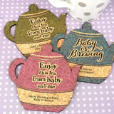 Baby Shower Tea Pot Cork Coaster