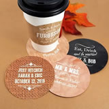 Personalized Paper Coasters - Silhouette Collection