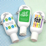 Golf Themed Sunscreen with Carabiner (SPF 30)