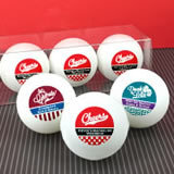 Personalized Ping Pong Balls - Silhouette Collection