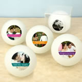 Photo Ping Pong Ball Favors