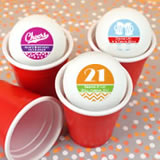 Adult Birthday Ping Pong Ball Favors