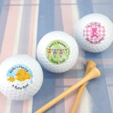 Baby Shower Golf Ball Favors