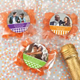 Photo Gummy Bear Favors - Champagne Flavor