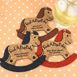 Baby Rocking Horse Cork Coaster